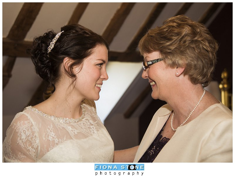 Moment between Mum and Daughter